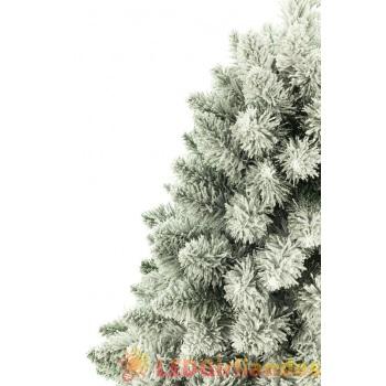 Dirbtinė eglutė 180 cm su sniegu ir kamienu