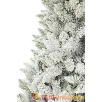 Dirbtinė eglutė padengta sniegu 160 cm