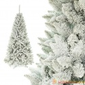 Dirbtinė eglutė padengta sniegu 180 cm