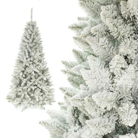 Dirbtinė eglutė padengta sniegu 300 cm