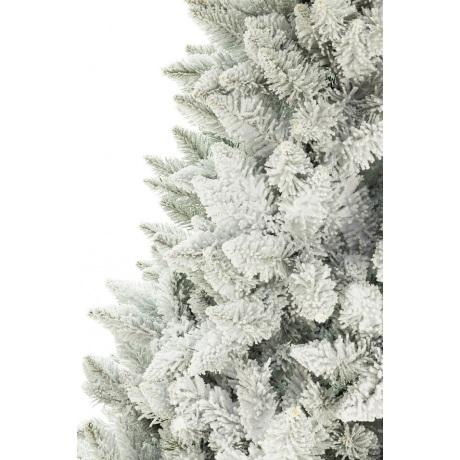 Dirbtinė eglutė 180 cm padengta sniegu su kamienu