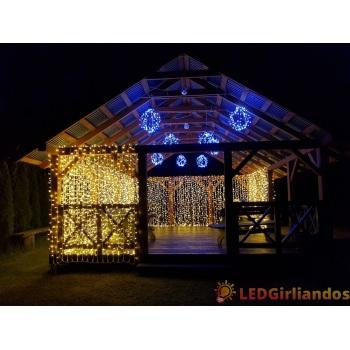 LED šviesos užuolaida 200x300