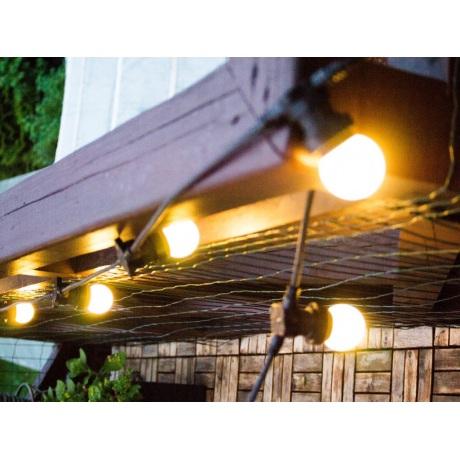 10 m ilgio keičiamų LED lempučių B-22 cokolio tipo girlianda ( kas 50 cm )