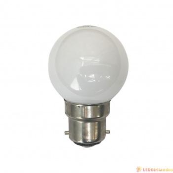 LED lemputė B-22 cokoliui