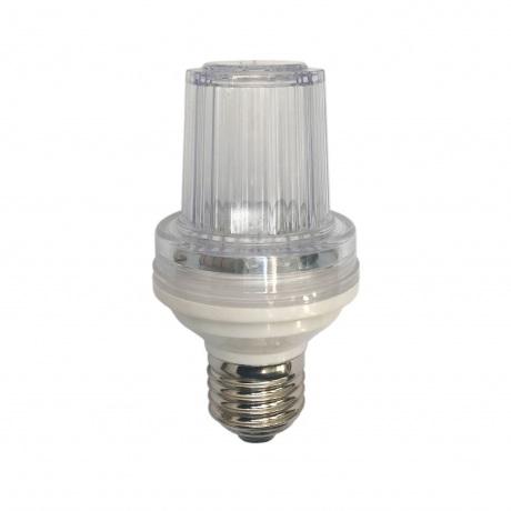 LED Flash blykstė E-27 cokoliui