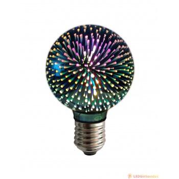 "Dekoratyvinė E-27 cokolio LED lemputė ""Fireworks"""