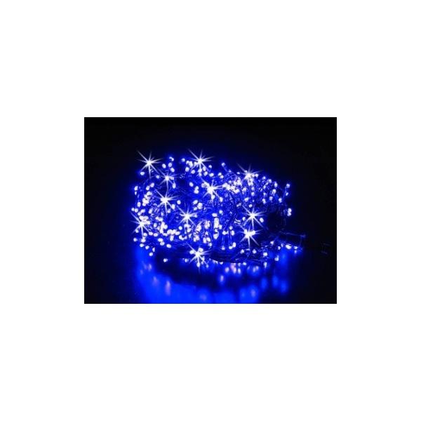 100 LED lempučių mėlynos spalvos girlianda ( 8 mirksėjimo variantai )