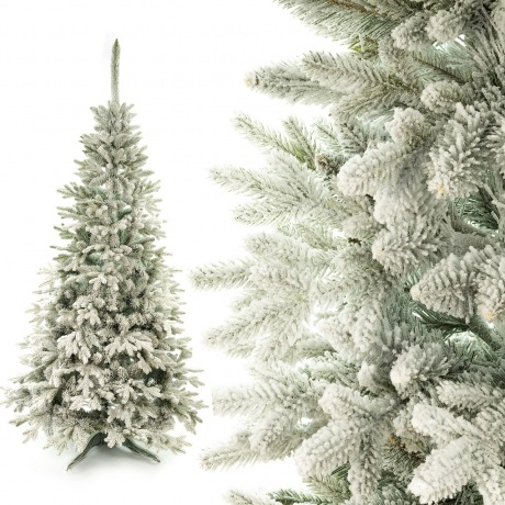 Dirbtinė eglutė Padengta sniegu PE 155 cm