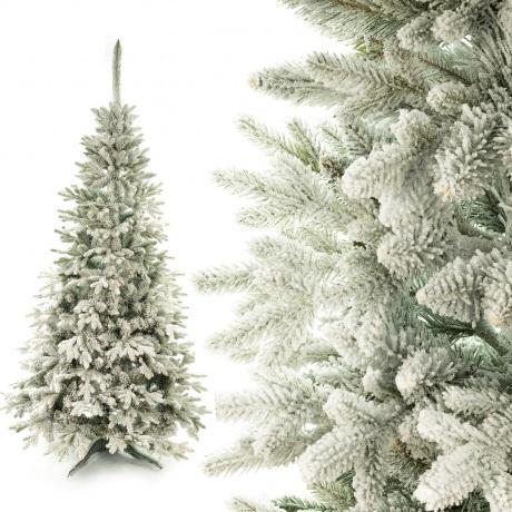 Dirbtinė eglutė Padengta sniegu PE 130 cm
