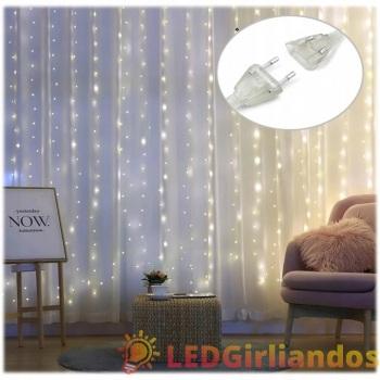 LED užuolaida 3x3 m ( 8...